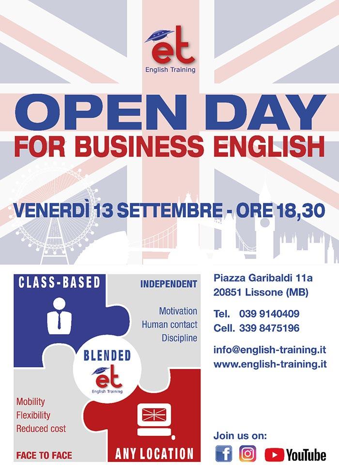 Conoscere il mio livello di inglese con l'Open Day a Monza e Lissone