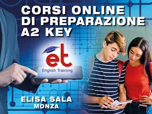 Scuola Elisa Sala (Monza) - corsi preparazione esame A2 Key