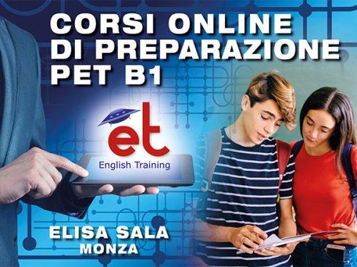 Scuola Elisa Sala (Monza) - corsi preparazione esame Cambridge B1 Preliminary